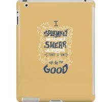 Solemnly Swear iPad Case/Skin