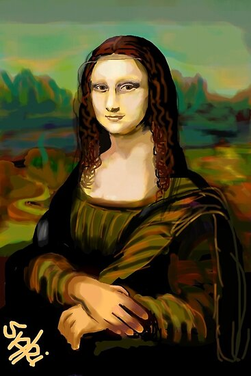 Mona Lisa by Sari  Puhakka