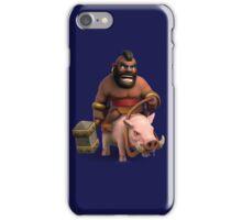 Hog Rider Art iPhone Case/Skin