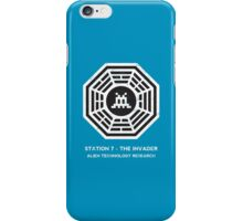Station 7 - The Invader iPhone Case/Skin