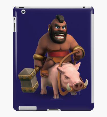Hog Rider Art iPad Case/Skin