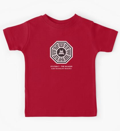 Station 7 - The Invader Kids Tee