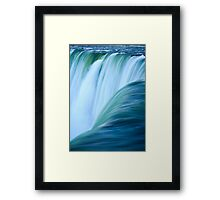 Simply Waterfalling Framed Print