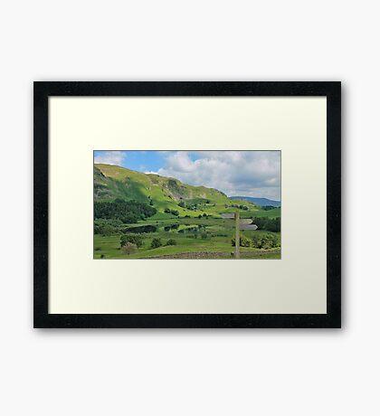 Little Langdale Tarn Cumbria Framed Print
