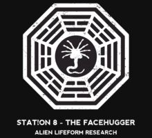 Station 8 - The Facehugger Kids Tee
