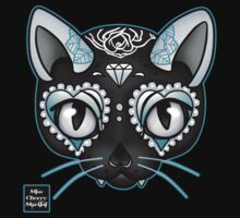 Day of the Kitty BLUE by Miss Cherry  Martini