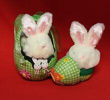 Easter Bunnies by AnnDixon