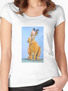 Mad March Hare Women's Fitted Scoop T-Shirt