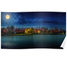Kindia Park In The Night Poster