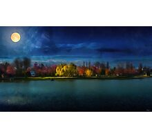 Kindia Park In The Night Photographic Print