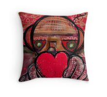 My Heart is yours - Beatrice Ajayi Throw Pillow