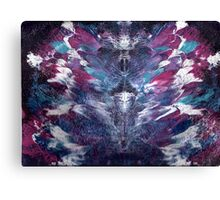 PINK AND BLUE FANTASY Canvas Print