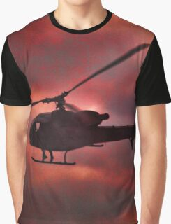 Helicopter  Graphic T-Shirt