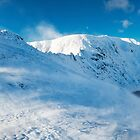 Striding Edge, Helvellyn, Lake District by Justin Foulkes