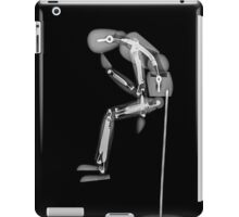 The Thinker (or thinking man - Homo sapiens)  iPad Case/Skin