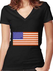 Universal Unbranding - Barack Obama Women's Fitted V-Neck T-Shirt