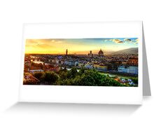 Florence, Italy Greeting Card
