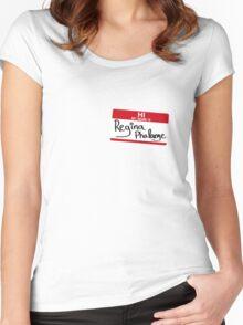 Hi, I'm Regina Phalange Women's Fitted Scoop T-Shirt