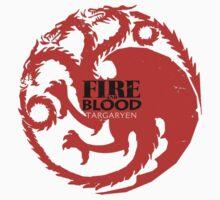 Targaryen - Fire and blood Kids Clothes