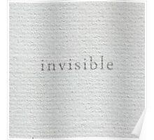A Visible Concept Poster