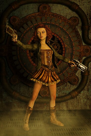 Anime Meets Steampunk by Liam Liberty