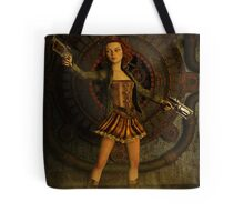 Anime Meets Steampunk Tote Bag
