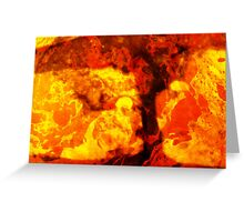 LAVA LAVA Greeting Card