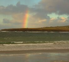 Rainbow, Skaill Bay by Aidan Semmens
