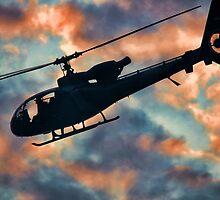 Helicopter  by Srdjan Petrovic