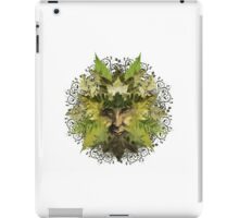 Green Man iPad Case/Skin