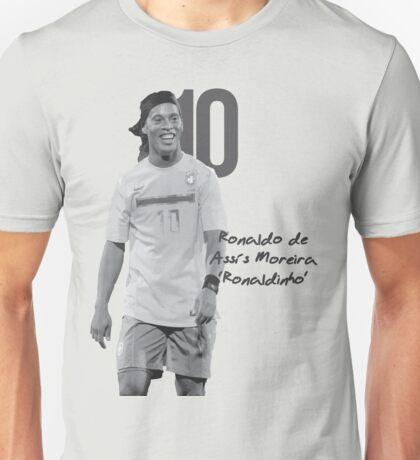 Ronaldo de Assis Moreira Ronaldinho Unisex T-Shirt