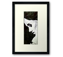 Pen/Marker Portrait #1 Framed Print