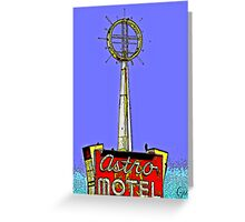 """"""" George Jetson Stayed Here """" Greeting Card"""