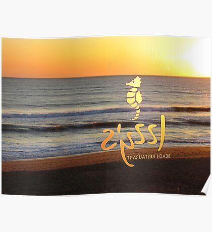 Beach Bar. Poster