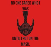 Bane's Mask by JustCarter