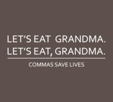 Commas save lives One Piece - Short Sleeve
