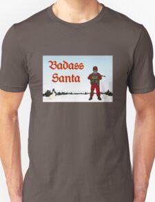Badass Santa by #fftw T-Shirt