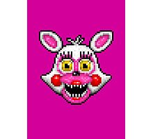 Adventure Funtime Mangle - FNAF World - Pixel Art Photographic Print