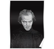 Jack Nicholson (Jack Torrance) The Shining poster Poster