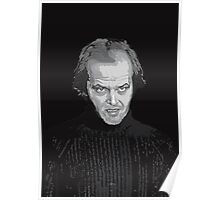 Jack Nicholson (Jack Torrance) The Shining poster Poster