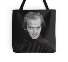 Jack Nicholson (Jack Torrance) The Shining poster Tote Bag