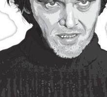Jack Nicholson (Jack Torrance) The Shining poster Sticker