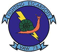 VAW-78 Fighting Escargots (Slugs) Photographic Print