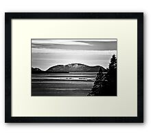 Frenchman Bay Framed Print