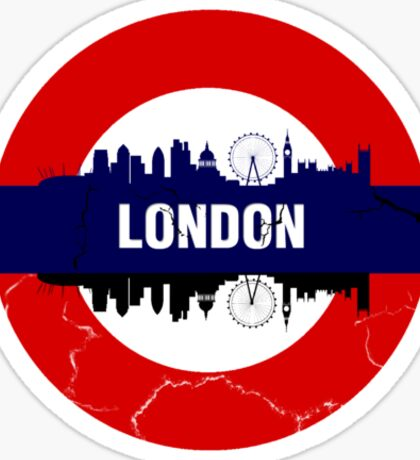 London Above and London Below Sticker