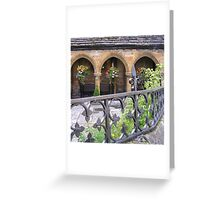 St. Johns' Almshouses, Sherborne Greeting Card