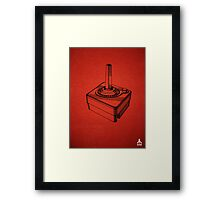 Original Patent for Atari Video Game Controllers Framed Print