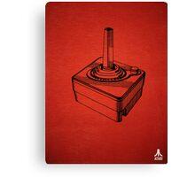 Original Patent for Atari Video Game Controllers Canvas Print