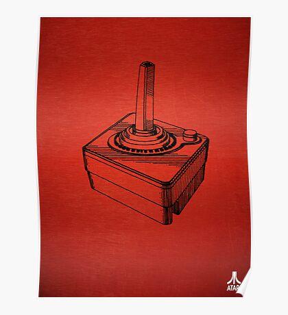 Original Patent for Atari Video Game Controllers Poster