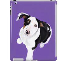 Puppy purple iPad Case/Skin
